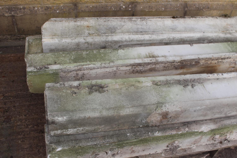 Pallet of seven sandstone sills - Image 3 of 3