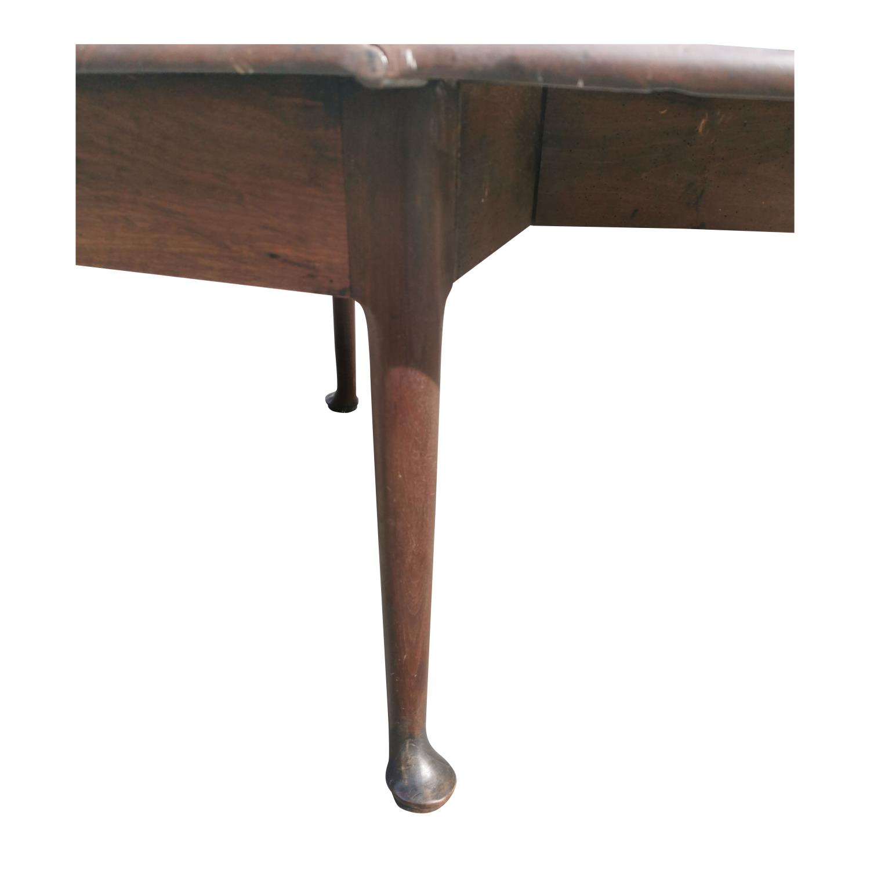 Irish Georgian mahogany drop leaf table. - Image 4 of 5