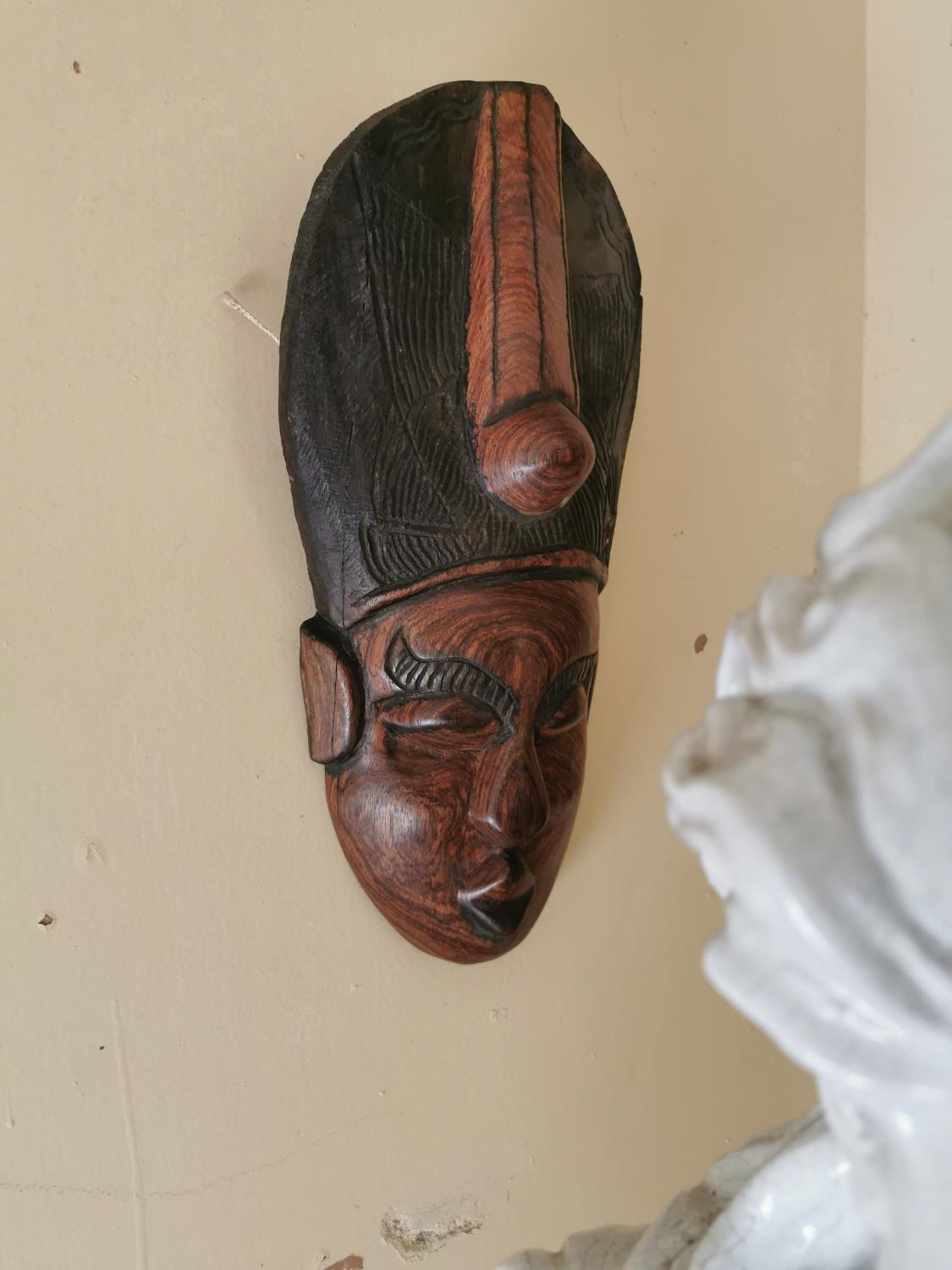 Two Polynesian face masks - Image 3 of 3