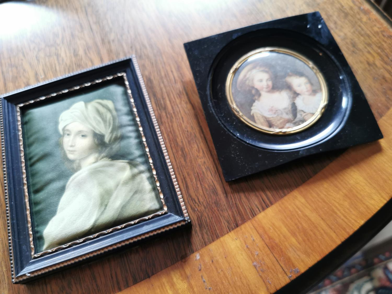 Two miniatures in bakelite frames - Image 2 of 3
