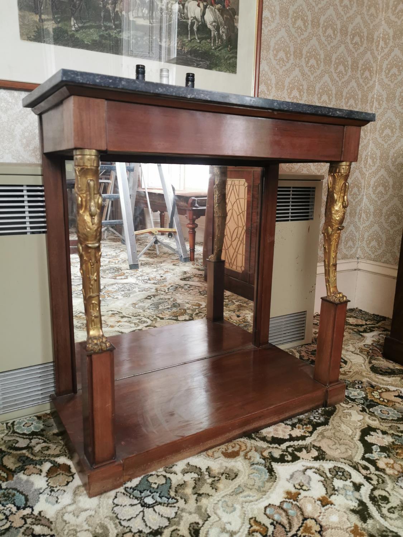 Regency mahogany console table - Image 5 of 5