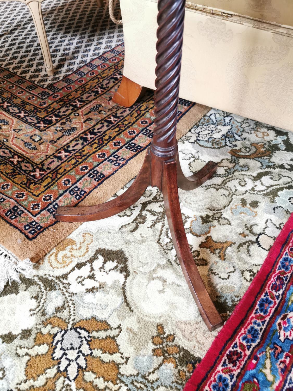 Regency mahogany wine table. - Image 2 of 2