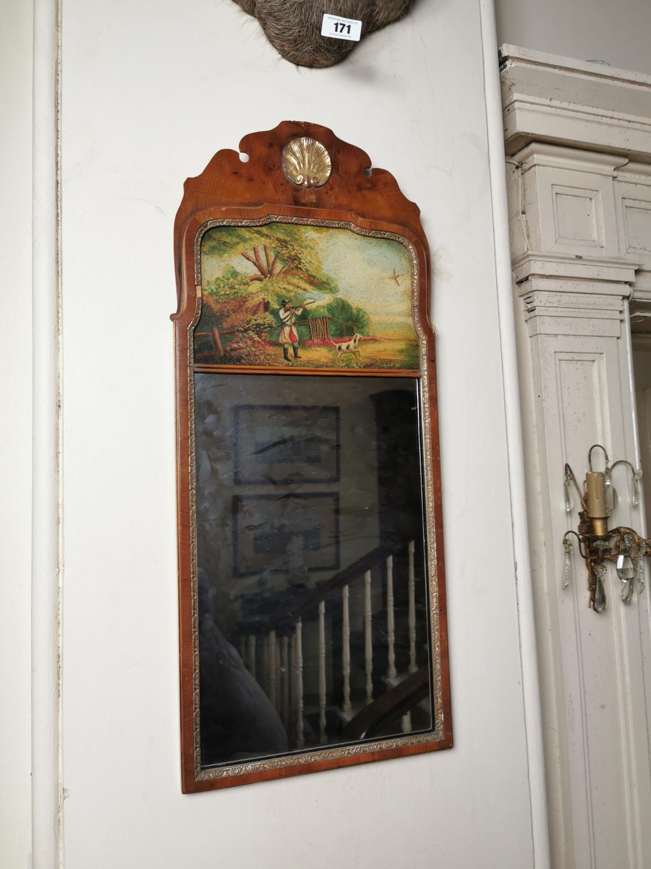 Pair of decorative mahogany pier mirrors - Image 3 of 3
