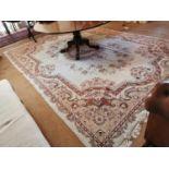 Good quality large decorative carpet square.