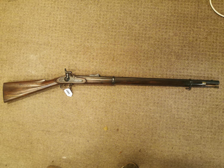 19th. C. percussion cap rifle