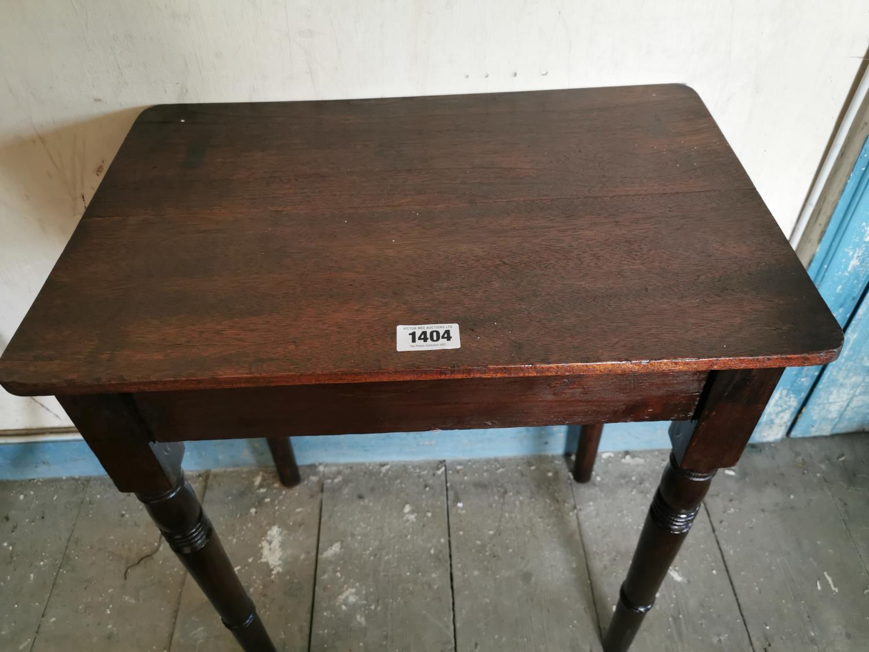 Edwardian mahogany side table. - Image 2 of 2