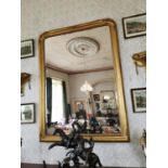 Pair of good quality gilded wall mirrors