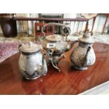 Early 20th C. silverplate coffee service.