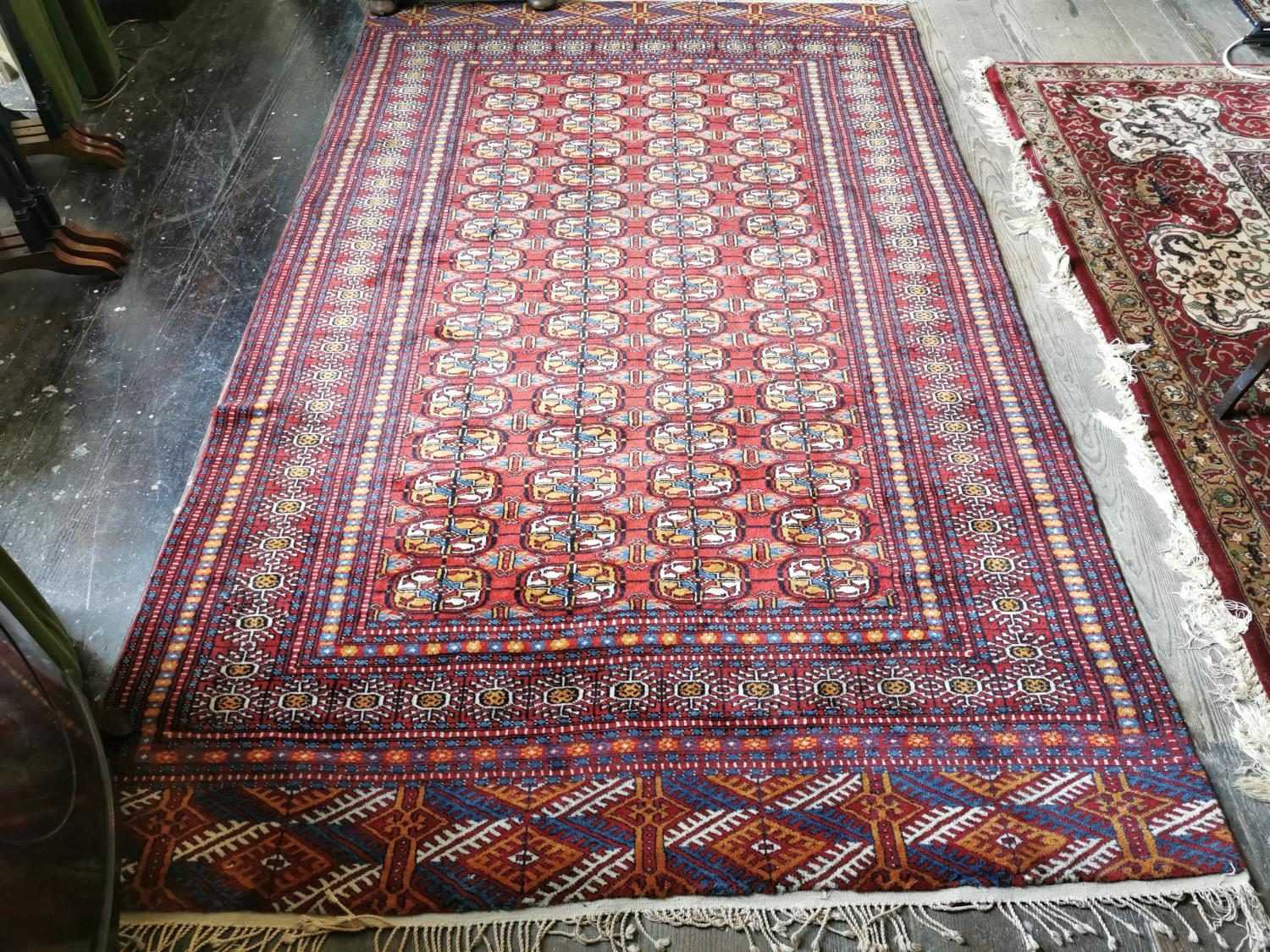 Persian hand knotted wool carpet