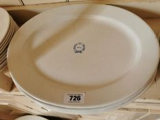 Set of four 2nd Period Belleek platters