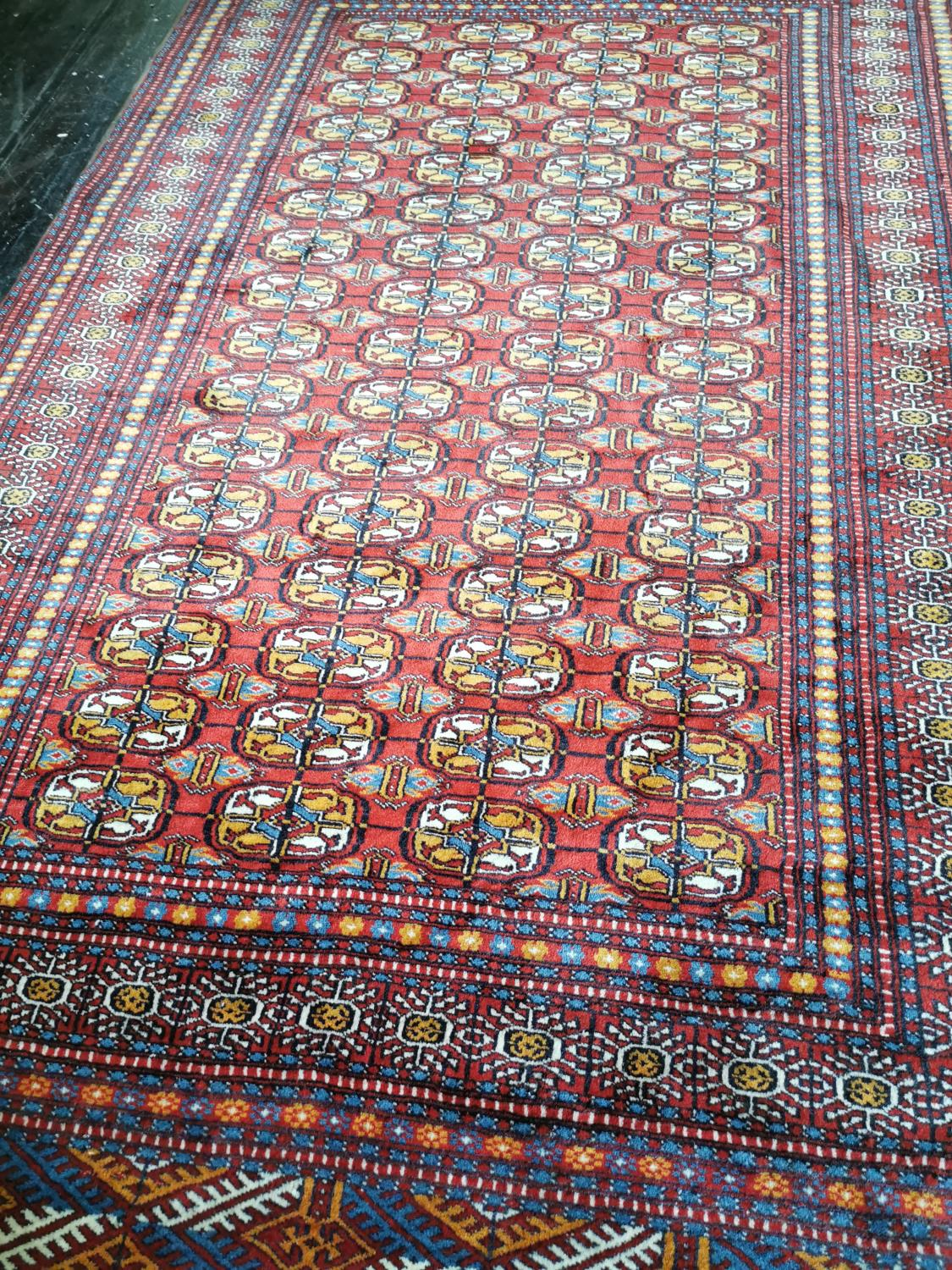 Persian hand knotted wool carpet - Image 2 of 2