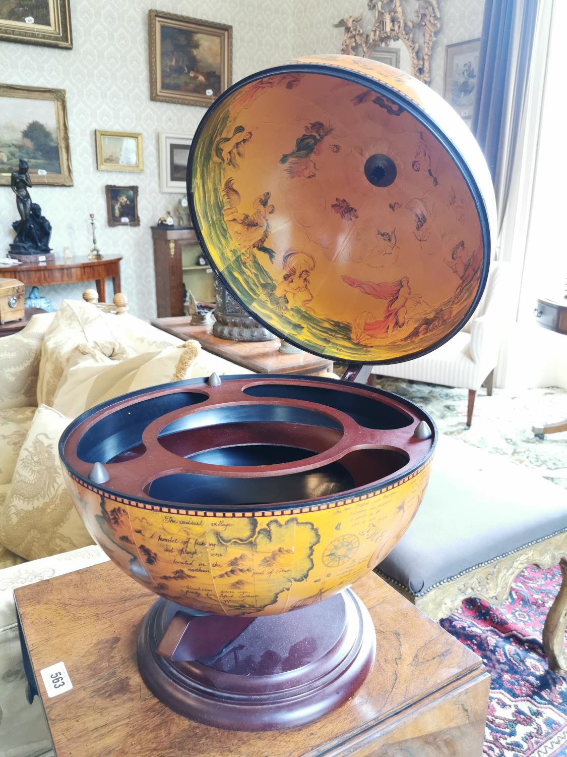 Table top drinks cabinet. - Image 2 of 2
