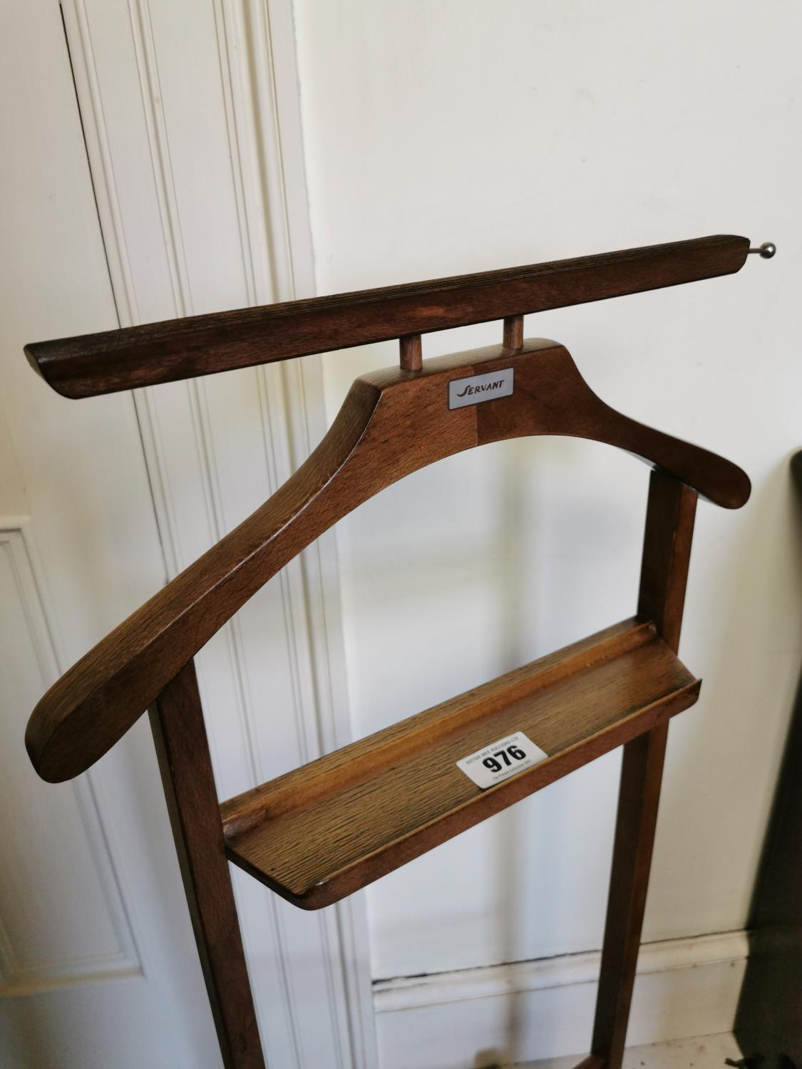1970s wooden valet stand. - Image 2 of 2