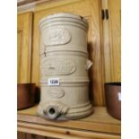 19th. C. stoneware water filter