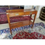 Stylish cherrywood side table