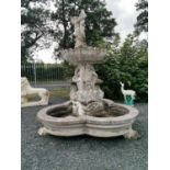 Early 20th C. fountain.