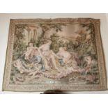 Edwardian tapestry.