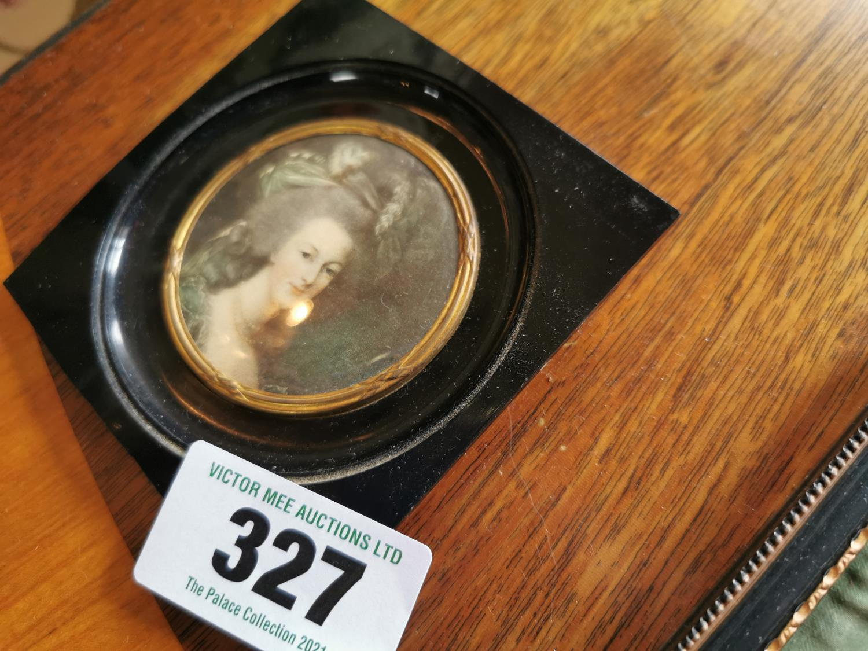 Two miniatures in bakelite frames - Image 3 of 3