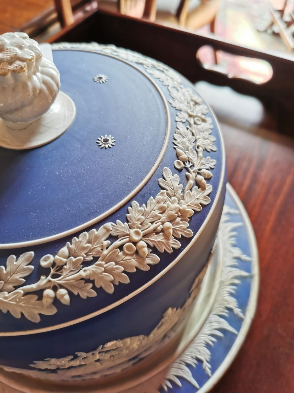 19th C. Wedgewood ceramic cheese dish. - Image 3 of 3