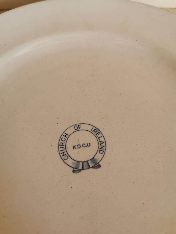 Set of ten 2nd Period Belleek dinner plates - Image 2 of 2
