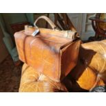 Gladstone leather bag