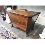 Regency mahogany wine cooler