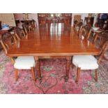 William IV mahogany dining table.