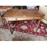 19th. C. mahogany side table.
