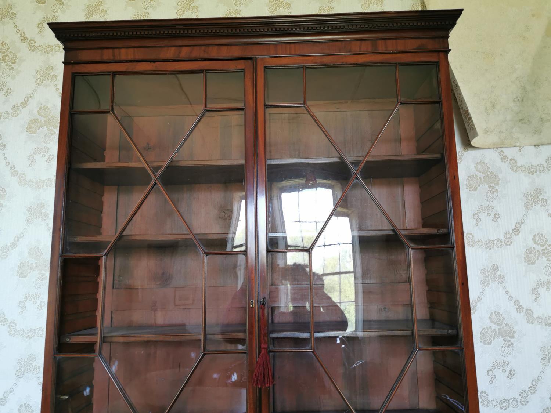 Georgian mahogany astral glazed bookcase. - Image 3 of 3