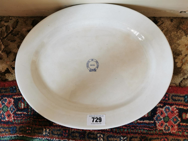 Set of five 2nd Period Belleek platters