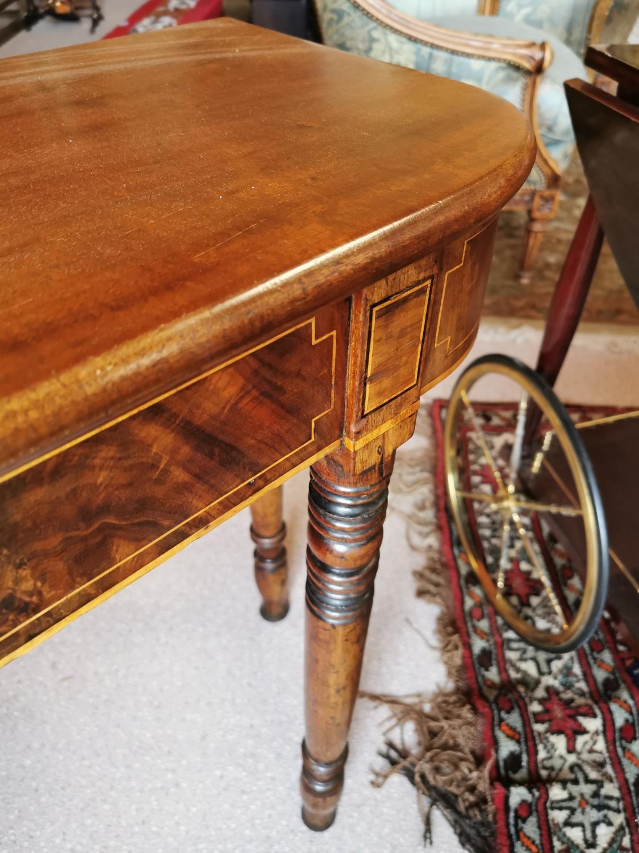 Georgian mahogany side table. - Image 3 of 3