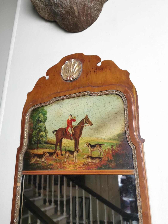 Pair of decorative mahogany pier mirrors - Image 2 of 3