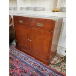 Stylish cherrywood side cabinet