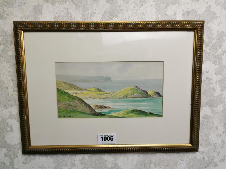 G. W. Morrison West of Ireland Scene Watercolour