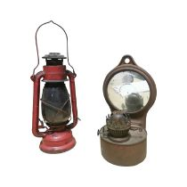 Two early 20th C. Lamps