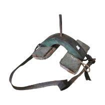 Early 20th C. Donkey straddle