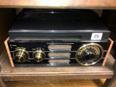 SMALL STEREO RECORD PLAYER