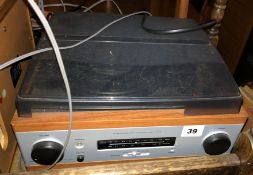 SMALL STEREO TURNTABLE,