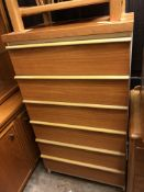 1970S SIX DRAWER CHEST