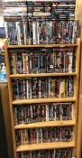 240+ DVDS FEATURE FILMS, VARIOUS SUBJECTS AND GENRES INCLUDING JAMES BOND, ACTION THRILLERS,