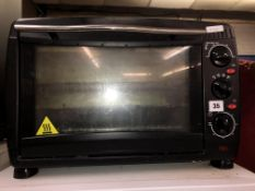 TWIN GRILL PLATE OVEN