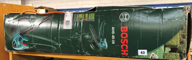 BOSCH AHS 45 ELECTRIC HEDGE TRIMMER