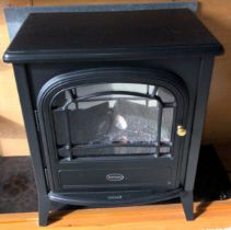 DIMPLEX ELECTRIC LOG EFFECT STOVE FIRE