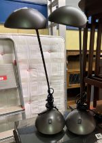 PAIR OF STUDENTS ANGLEPOISE LAMPS