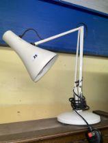 ADJUSTABLE ANGLEPOISE DESK LAMP