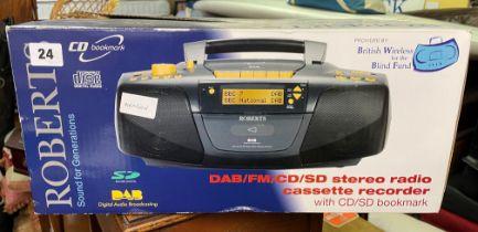 ROBERTS DAB CD STEREO RADIO