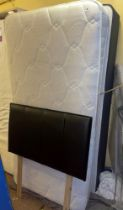 GOOD QUALITY SINGLE BED AND HEADBOARD
