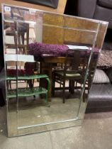 OBLONG SECTIONAL MIRROR