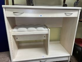 MAPLE EFFECT DRESSING TABLE,
