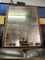 MOULDED GILT LINED MIRROR